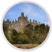Arundel Castle Round Beach Towel