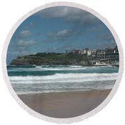 Australia - Bondi Beach Southern End Round Beach Towel