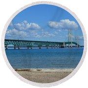 Bridge Round Beach Towel
