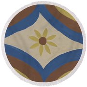 Colcha Round Beach Towel