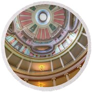 Old Courthouse Round Beach Towel