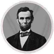President Lincoln Round Beach Towel