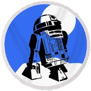 Star Wars R2-d2 Collection Round Beach Towel