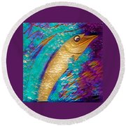 Swordfish Round Beach Towel