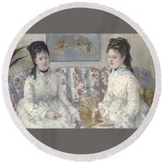 The Sisters Round Beach Towel