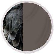 Vulture Round Beach Towel
