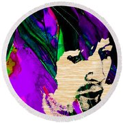 Eric Clapton Collection Round Beach Towel