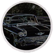 58 Fleetwood Round Beach Towel