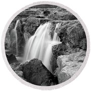 Grand Falls Round Beach Towel