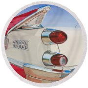 59 Dodge Royal Lancer Round Beach Towel