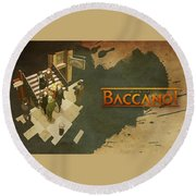 59906 Baccano Round Beach Towel