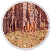 Views Of Canyonlands National Park Round Beach Towel