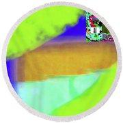 6-17-2015dabcdefghijklmn Round Beach Towel