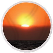 6-6-16--0570 Don't Drop The Crystal Ball Round Beach Towel