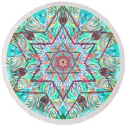 Blessing-home Blessing Or Business Blessing Round Beach Towel