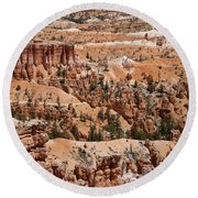 Bryce Canyon - Utah Round Beach Towel