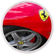 Ferrari Round Beach Towel