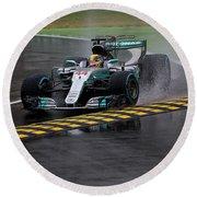 Formula 1 Monza 2017 Round Beach Towel