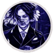 Jack White Collection Round Beach Towel