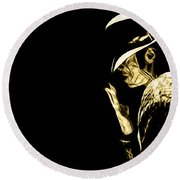 Michael Jackson Collection Round Beach Towel