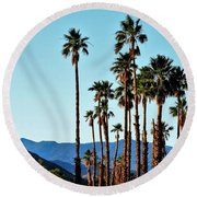 Palm Springs Round Beach Towel