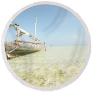 Photographer Round Beach Towel