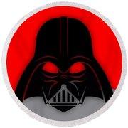 Star War Darth Vader Collection Round Beach Towel