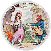 Thomas Paine (1737-1809) Round Beach Towel