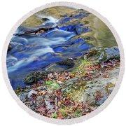Great Smoky Mountains National Park Round Beach Towel