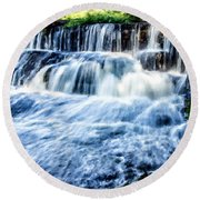 Landscape N More Round Beach Towel