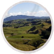 New Zealand Round Beach Towel