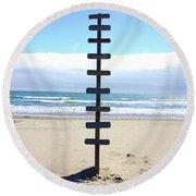 Untitled Round Beach Towel