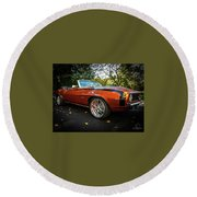 '69 Camaro Round Beach Towel