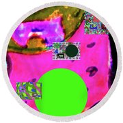 7-20-2015d Round Beach Towel