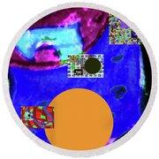 7-20-2015dabcdefghi Round Beach Towel