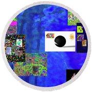 7-30-2015fabcdefghijklmnopqrtuvwxyzabc Round Beach Towel