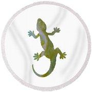 Gecko Round Beach Towel
