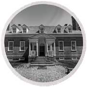George Mason's Gunston Hall Round Beach Towel