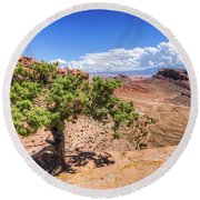 Moab Round Beach Towel