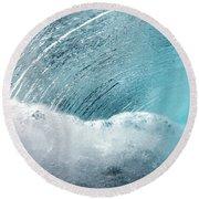 Underwater Wave Round Beach Towel