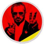 Ringo Starr Collection Round Beach Towel