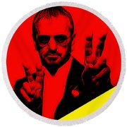 Ringo Starr Collection Round Beach Towel