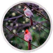 7440-008 Cardinal Round Beach Towel