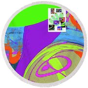 8-14-2015fabcdefghijklmnopqrtuvwxyzabcd Round Beach Towel