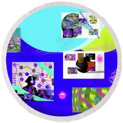 8-7-2015babc Round Beach Towel