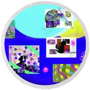 8-7-2015babcd Round Beach Towel