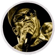 Bobby Womack Collection Round Beach Towel