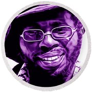 Curtis Mayfield Collection Round Beach Towel