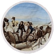 Franz Schubert (1797-1828) Round Beach Towel
