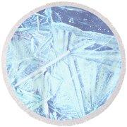 8. Ice Patterns, Whitfield Round Beach Towel